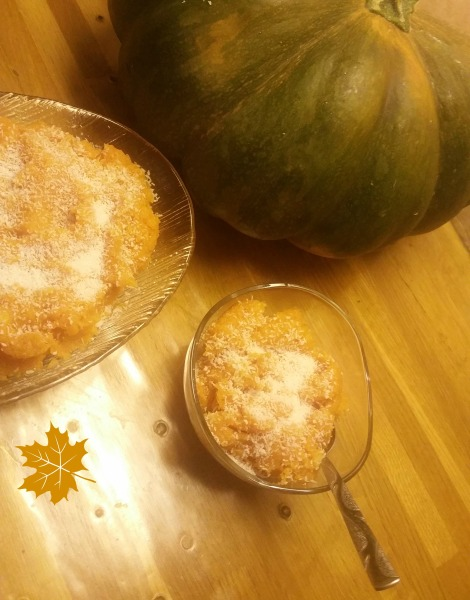 Halwa à la citrouille ou pumpkins halwa