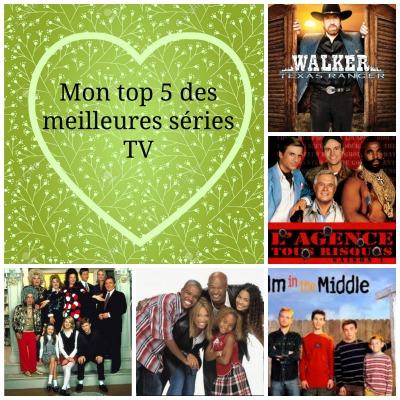 Mon top 5 des meilleures séries TV