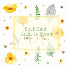 book haul salon du livre