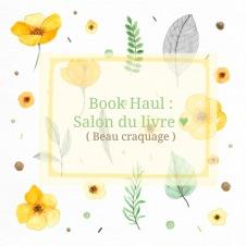 book haul salon du livre