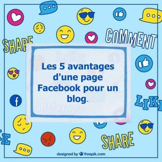 Avantages d'une page Facebook pour un blog